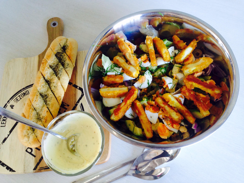 Hedendaags Krokante kip salade | BD-37